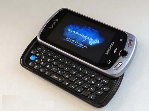 Samsung Moment, el móvil con sistema operativo Google