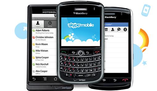 BlackBerry Skype