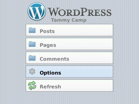 BlackBerry WordPress