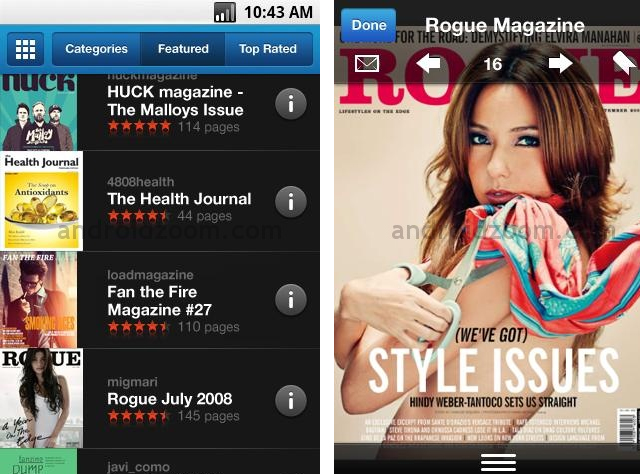 MARKETING-10.COM - Issuu Mobile te permite leer revistas en tu teléfono móvil android