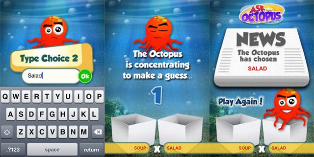 MARKETING-10.COM - Paul, el pulpo del mundial, tiene su propia app para tu iPhone, iTouch o iPad