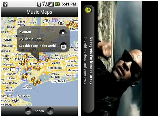 MARKETING-10.COM - TuneWiki es un reproductor que te permitirá ver videos y escuchar música de la mejor forma